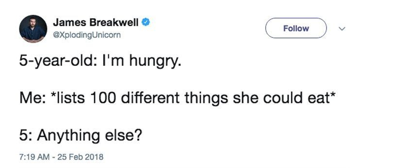 funny tweets about children
