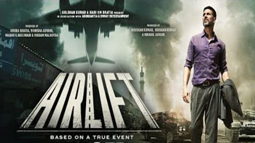 Airlift: motivational Hindi Movie for success