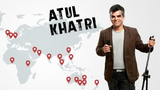 Atul Khatri: funniest indian stand up comedians
