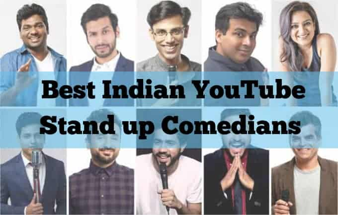 Best Indian YouTube Stand up Comedians