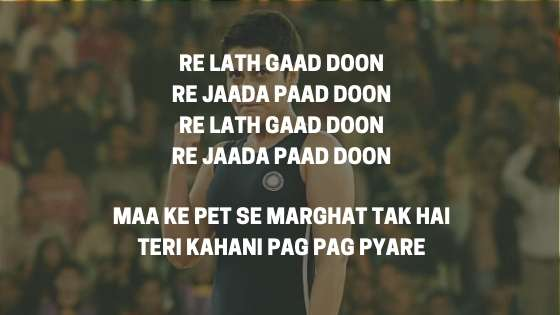 Dangal Titile Song motivational